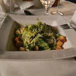 Salade césar croûtons