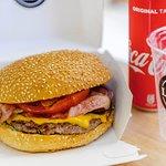 Best burger in town..
