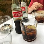 Rum and Coke with Mexican Coke with real sugar.