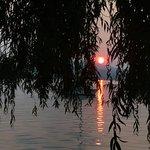 Mehrere schöne Sonnenuntergänge erlebt
