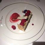 Cheese cake at Clos Maggiore!
