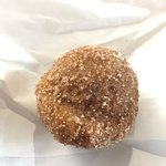 Most popular....pumpkin donut holes!