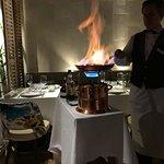 Preparing the Creppes Souzette