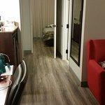 view thru rooms from door