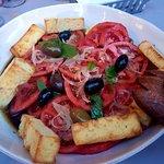 Special tomato salad