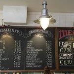 Photo of the Urker Fish Shop (de Urker Viswinkel)