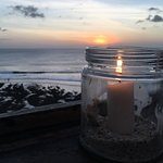 candles after sunset