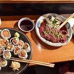 Beef Tataki & Maki Rolls