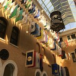 The amazing flag room