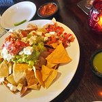 Guacamole during happy hour - more than enough for two!