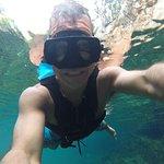 Dentro de un Cenote