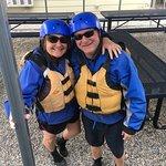 Celebrating my husband's 50th--WW rafting was on the bucket list!
