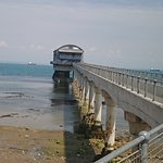Walkway over to the RNLI station