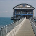 The 'new' offshore boathouse