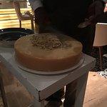Cheese wheel pasta