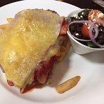 Chicken Parma at the Grosvenor