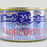 Canned Pacific Oysters