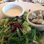 Waldorf salad (with cheese and dressing on the side)