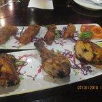Chicken Tandoori succulent /tender great