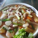 seafood taoufu pot