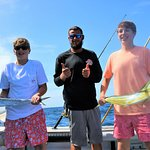 Thanks to Captain for a wonderful day of fishing with Fired Up Fishing Charters!
