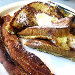 French Toast @ Bacon, Omega Coffee Shop, Milpitas, CA