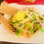 Apple and pineapple salad