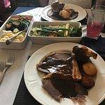 Sunday lunch. Yum!