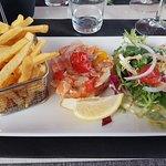 Tartare saumon et dorade