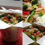 Лапша с креветками / Nūdeles ar garnelēm / Noodles with shrimps - 4.00 EUR