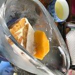 Ice mango dessert after massage!