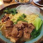Beef noodle soup I got :)