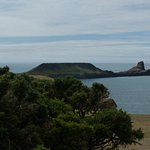 View towards Worms Head from near the lookout station