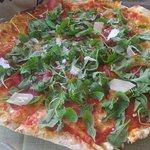 Pizza alla bresaola