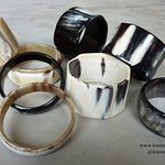 Louise Loubatieres Made and Crafted horn bangles