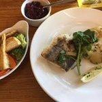 Fresh Sea Bass & Veg as Requested