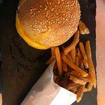 hamburger frites maison