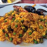 Excellent mixed paella