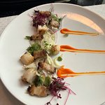 my pork and scallop appetizer