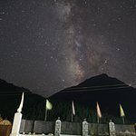 View of Galaxy from the lawn