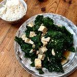 Stir Fried Greens and Tofu