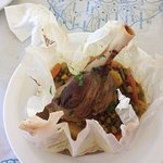 Tender Lamb knuckle with vegetables