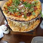 Pear Pizza, Prosciutto Pizza