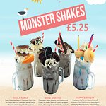 Our amazing indulgent monster shakes are to die for