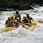 White Water Rafting with Guide Johnny B