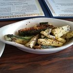 Zucchini with mint...great.