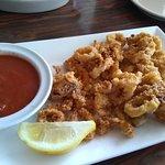 Best calamari we ever had.