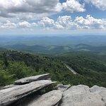 Bilde fra Rough Ridge Lookout
