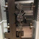 Bank vault decor, yes... location used to be a bank