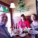 Lunch at The Olde Triangle Pub in Wabasha, MN